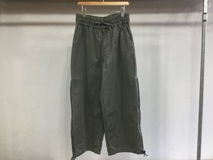 """WHOWHAT""""WORMHOLE PANT SMOKY GREEN"""""""