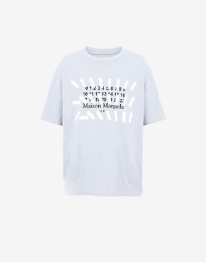 【Maison Margiela】Tapeプリントオーバーサイズ Tシャツ S30GC0731