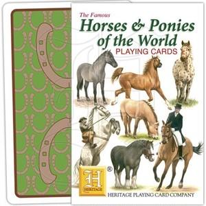 トランプ【世界の馬&ポニー】Heritage Playing Card Company 90023-J