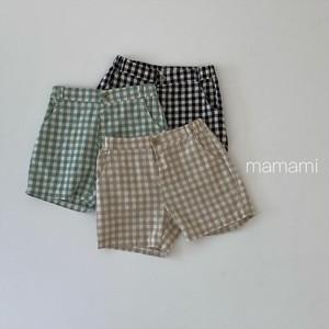 mamami / チェックショートパンツ