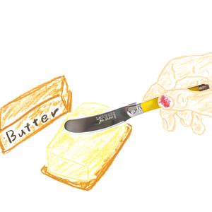 ジャンデュボ ライヨール:バターナイフ