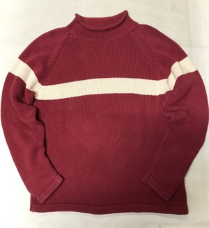 Old GAP Mock Neck Cotton Knit M