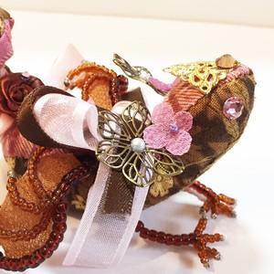 バレンタイン宝石竜【ストロベリーショコラ 背中リボン】