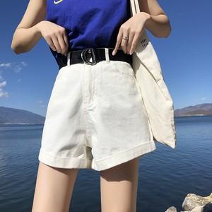 【ボトムス】無地ショート丈ファッションショートパンツ17832544