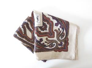 Vintage YSL Yves Saint Laurent ストール