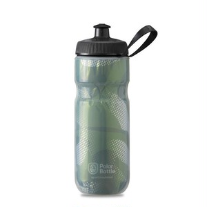 POLAR BOTTLE / Contender 20oz / Olive/Silver