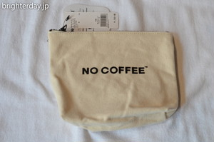NO COFFEE × GLOBAL WORK ポーチ
