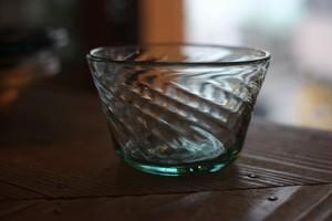 【倉敷ガラス・小谷栄次】◆◆◆小鉢◆◆◆薄緑◆◆◆