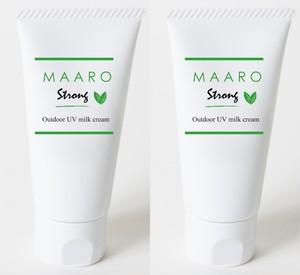 MAARO STRONG アロマミルククリーム2本セット