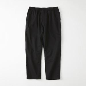 MOLESKIN TAPERED PANTS - BLACK