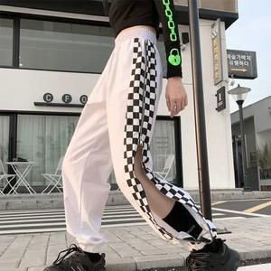 【ボトムス】チエーン付きトリート系カジュアルパンツ29194440