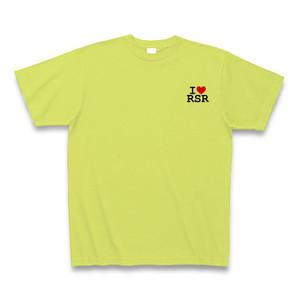 I LOVE RSR Tシャツ(ライトグリーン・左)