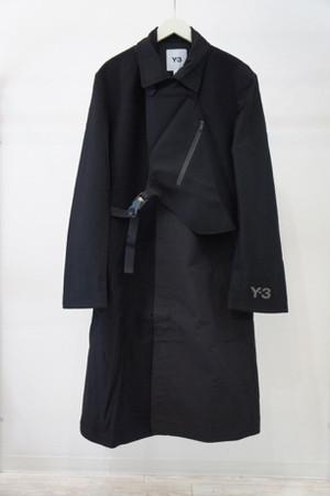 CH1 Wool Flannel Coat -BLACK- / Y-3