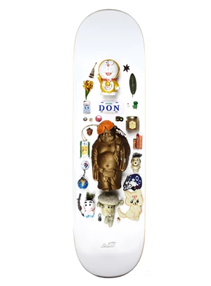 SNACK SKATEBOARDS / KREBS 'BAY'S ROOM' DECK / 8.25 x 31.7inch(20.955×80.518cm)