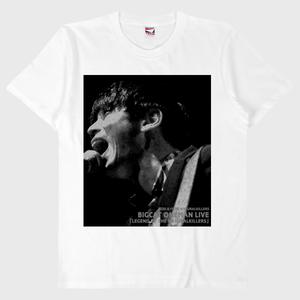 【オンデマンド】Mサイズ BIGCAT 応援・宣伝Tシャツ2 白 送料無料