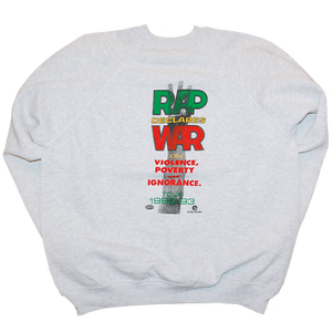 """Rap Declares War"" Vintage Sweat Used"