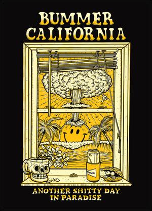 Bummer California - PARADISE POSTCARD