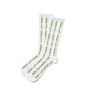 SON OF THE CHEESE サノバチーズ Bamboo SOX(WHITE) SC2020-AC01
