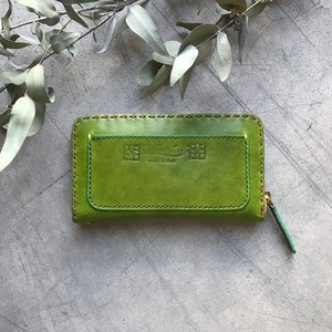 Balarm -Leather Long Wallet / Olive
