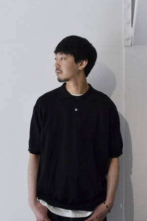 【ORDINARY FITS】POLO KNIT/OF-N009