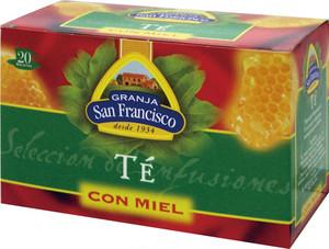 ネット限定セール!はちみつ紅茶「テ・コンミエル」はちみつ入りスペインティー20P
