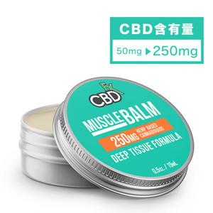 CBDfx CBD 250mg ミニバーム - Muscle(筋肉)
