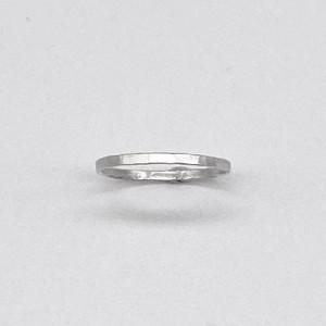 薄ヒラring / silver950 / none