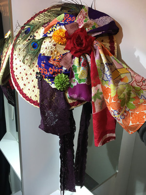 corgi-corgi 新作 ドレスにも着物にも合わせやすいヴィンテージ感溢れる編笠ハット Japanese traditional-modern hybrid hat
