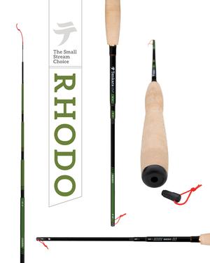 RHODO /TENKARA USAテンカラ竿と毛鉤のセット