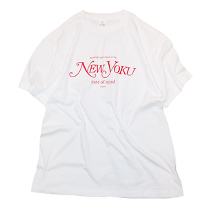 """New Yoku"" Tee Red"