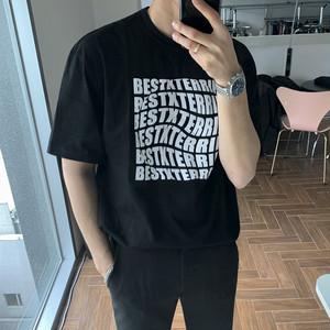 フロントプリントTシャツ BL5478