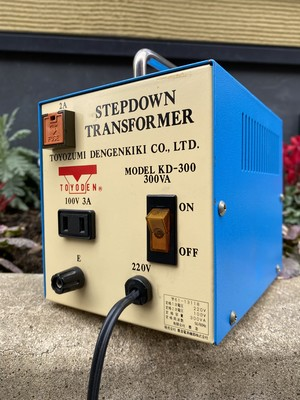 toyoden step down transformer kd-300