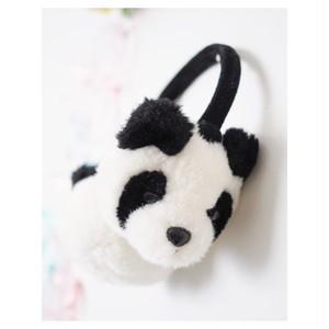 パンダのフワイヤーマフ