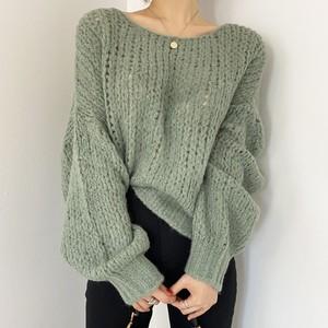 Pullover Runtan Sleeve Sweater T620