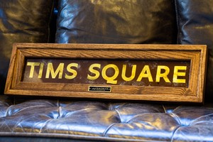 NYC Subway Sign – TIMS SQUARE –