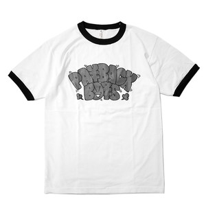 PAYBACK BOYS / PBBxVIN TRIM T-SHIRTS (WHITE/BLACK)
