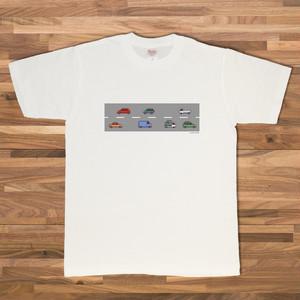 【ベビー】Traffic イラストTシャツ/ホワイト【CWE-020NVB】