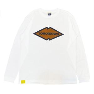 SHARP MOUNTAIN LONG SLEEVE T-SHIRT  <WHITE>