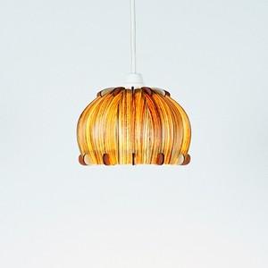 「ペコロス(ゼブラ)」木製ペンダントライト