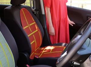 OTO い草:カーシート(自動車用)熱中症対策