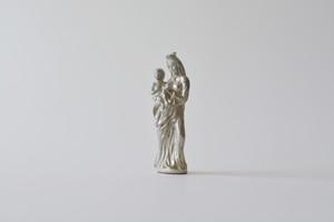 ピューター 聖母子像