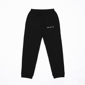 CRATE Sweat Pants BLACK