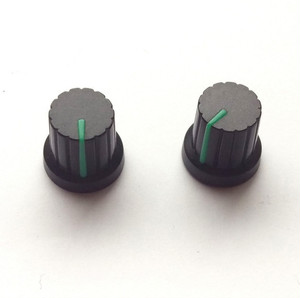 シンセ ツマミ型 マグネット 【黒×グリーン】 Synth Knob Magnet SKM  | シンセサイザッカー