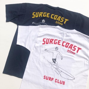 "Surge Coast Store ""SURF CLUB Pocket S/S TEE"""