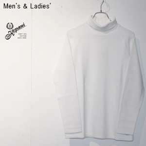 【残りレディースのみ】Kepani 長袖タートルネックT Turtleneck Long Sleeve T KP9903MS (WHITE)