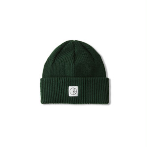 POLAR SKATE CO / DOUBLE FOLD MERINO BEANIE -HUNTER GREEN-