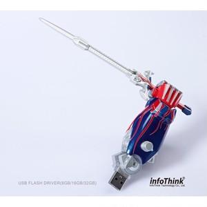 InfoThink USBメモリ TRANSFORMERS トランスフォーマー/ロストエイジ USB フラッシュドライブ 8GB Transformers: Age of Extinction ARM オプティマス・プライム Optimus Prime