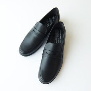 TRAVEL SHOES by chausser ショセ - レザーローファー - Black