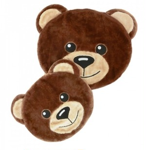 【circus circus】Toy Bear Face Mat Sサイズ