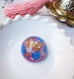 5周年記念作品♡ オルゴナイト-Hydrangea- 自己から広がる愛